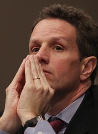 Treasury Secretary nominee Timothy Geithner (Lauren Victoria Burke/wdcpix.com)
