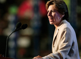 Randi Weingarten, president of the American Federation of Teachers. (Win McNamee/Getty Images)