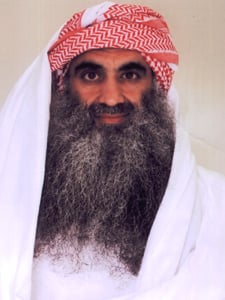 This image of Khalid Shaikh Mohammed was widely re-published in September 2009 after independent counterterrorism researchers found it and some similar images on jihadist Web sites.