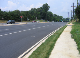 The resurfacing of this road in Silver Spring, Md., is expected to generate 60 jobs and be completed by late fall, according to the Maryland governor's office. (Wikimedia Commons)
