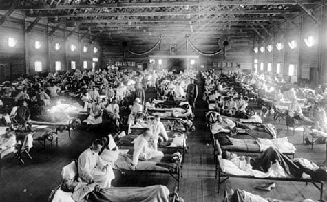 Spanish Flu Ward, 1918