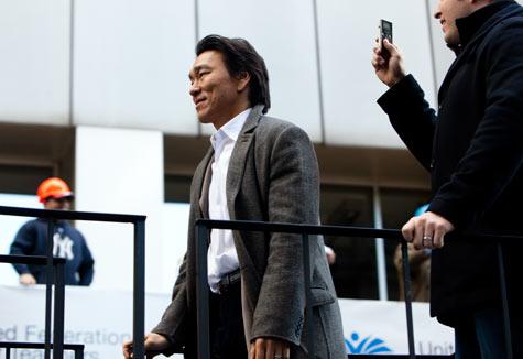 World Series MVP Hideki Matsui (Dan Nguyen/ProPublica)