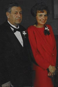 John Shepter with his wife. (Photo courtesy of the Shepter family)