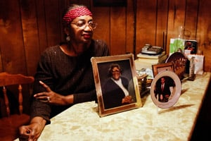 Lela Burns at her home in Jacksonville, Ark., on Dec. 14, 2011. (Jacob Slaton/ProPublica)