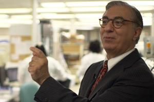 Dr. Michael Laposata, chief pathologist at Vanderbilt University Medical Center (Photo courtesy of PBS Frontline)