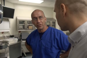 Dr. Jon Thogmartin, chief medical examiner for Pasco and Pinellas counties in Florida (Photo courtesy of PBS Frontline)