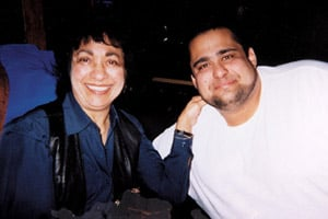 Henry Baer, right, with his mother, Violet Cunningham. Baer, 39, died from an antibiotic-resistant staph infection after his bloodline had become disconnected during a dialysis treatment. (Photo courtesy of Karen Gable)