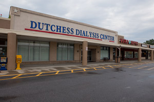 The Dutchess Dialysis Center in Poughkeepsie, N.Y., where patient Barbara Scott received her dialysis treatments. (Dan Nguyen/ProPublica)