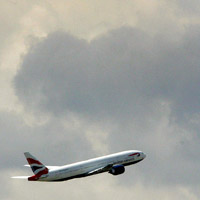 A British Airways aircraft takes off from Heathrow Airport. (Getty Images)