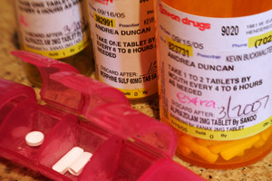 These are prescriptions for Xanax and morphine written by Dr. Kevin Buckwalter for Andrea and Clint Duncan. (Sam Morris/Las Vegas Sun) | See <a href='http://www.lasvegassun.com/news/topics/painful_painkillers/' _cke_saved_href='http://www.lasvegassun.com/news/topics/painful_painkillers/' _cke_saved_href='http://www.lasvegassun.com/news/topics/painful_painkillers/'>Las Vegas Sun's full investigation on Painful Painkillers</a>.