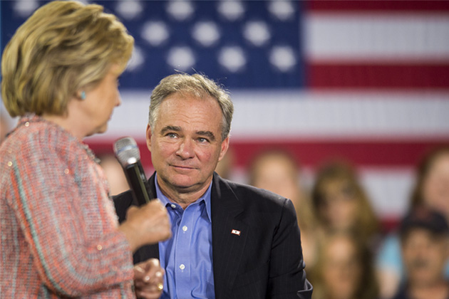 Clinton and Kaine to debut as Democratic ticket in Florida