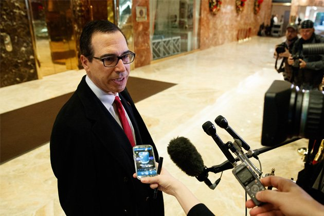 Image result for IMAGES OF Steve Mnuchin,