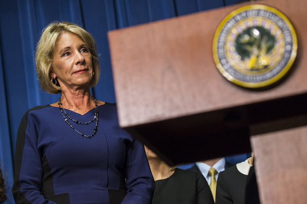 profit colleges gain beachhead education department after trump administration hires lobbyist