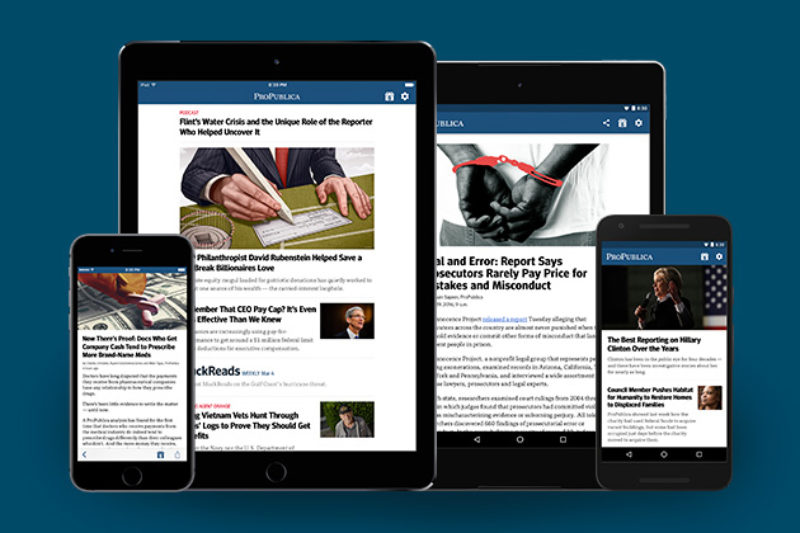 How We Built the New ProPublica Mobile Apps — ProPublica