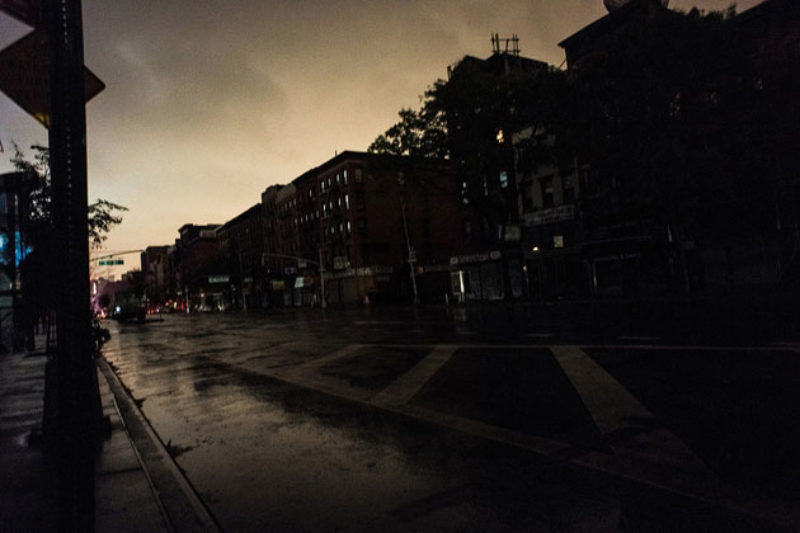 New York's Ongoing Blackout: Hospitals in Lower Manhattan