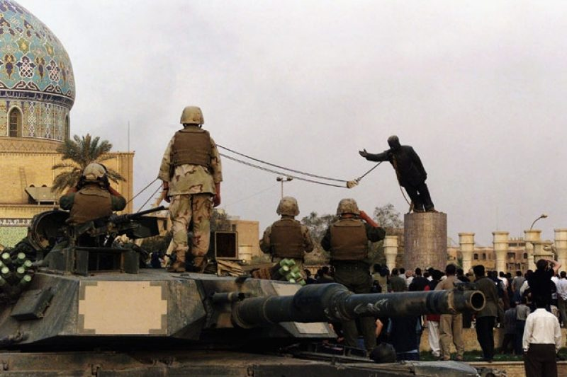 The Toppling: How the Media Inflated the Fall of Saddam's