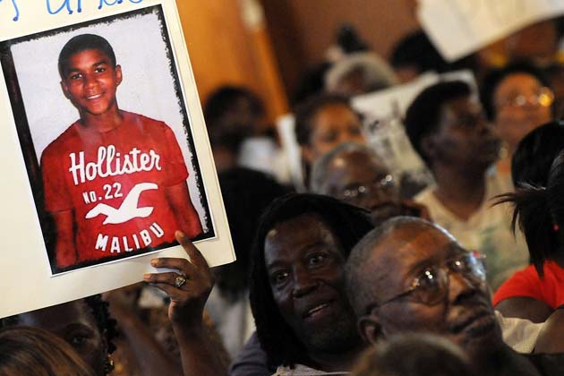 trayvon 630 Civil rights leaders and residents of Sanford, Fla., attend to a town hall ...