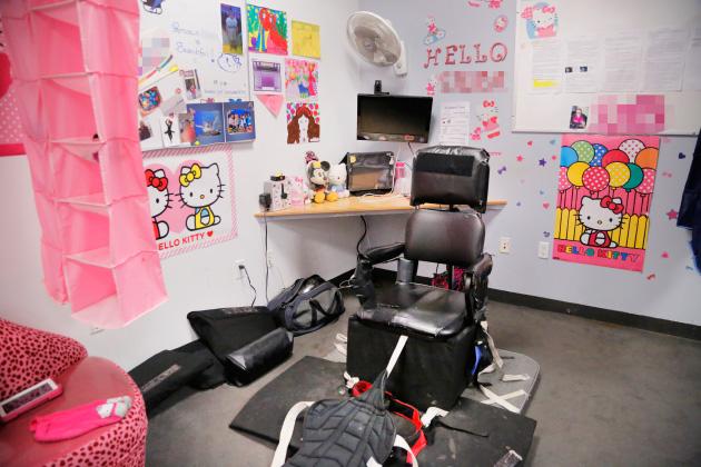 Special Needs Restraints Kitchen Chair