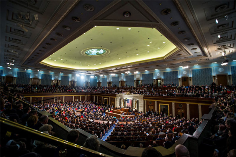 A Joint Session Of Congress At The U S Capitol Samuel Corum Anadolu Agency Getty Images