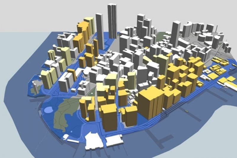 How We Made the 3-D New York City Flood Map — ProPublica