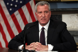 De Blasio Says 'Enough is Enough': Landlords Getting Big Tax Break Must Cap Rent Hikes