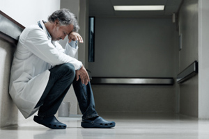 "Medical providers are often referred to as the ""second victim"" of medical mistakes. (iStock photo)"