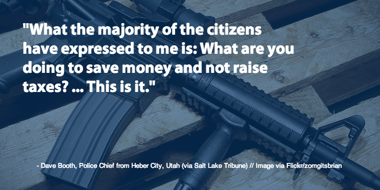 Salt Lake Tribune Quote