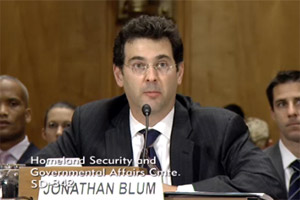 Jonathan Blum testifying