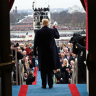 Trump Hits Populist Note in Inaugural Address