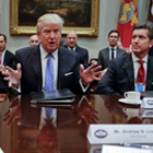 Why Trump's Meetings With CEOs Seeking Mergers Trouble Observers