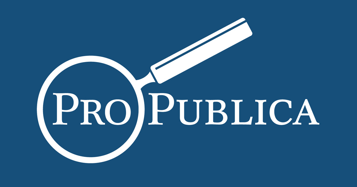 ProPublica Articles and Investigations from ProPublica, an independent, non-profit newsroom that produces investigative journalism in the public interest.