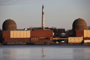 Indian Point Nuclear Power Plant in Buchanan, N.Y. (Mario Tama/Getty Images)