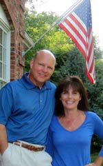 Pete Pauley, pictured with his wife Mary Ellen, sued Allied in W. Va. state court alleging that a broker misled him about a low-interest loan in 2004.