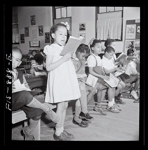 "segregation in public schools The following year the justices ordered that states end school segregation with ""all deliberate speed while closing public schools."