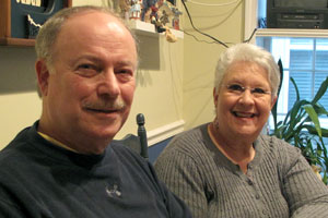 Jay and Bonnie Silverstein (Chris Arnold, NPR News)