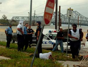 Related Story: Law and Disorder | Click to read our coverage of police shootings in the aftermath of Katrina.