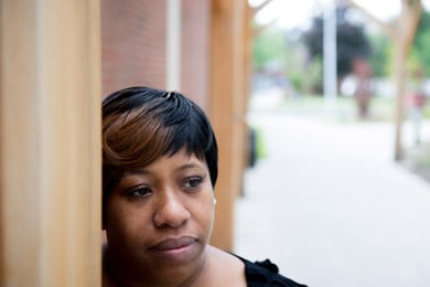 Sonya Hall, Amir's aunt, wonders why her nephew was locked up in solitary confinement if he was dealing with a mental illness. (Shannon DeCelle for ProPublica)