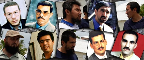 The 10 men pictured above have all gone before trial judges in Washington, D.C., to obtain their freedom. Each one represents a case study for the Obama administration as it struggles to craft a legal framework for detaining suspected terrorists.