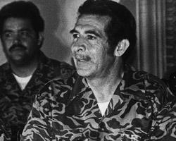 Dictator Efraín Ríos Montt (Bettmann/Corbis/AP Images)