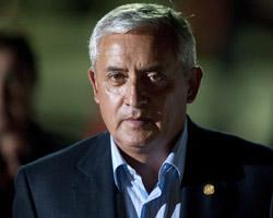 President Otto Pérez Molina (Eitan Abramovich/AFP/Getty Images)