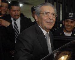 Former dictator Gen. Jose Efraín Ríos Montt (Jose Miguel Lam/AFP/Getty Images)