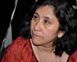 Special Human Rights Prosecutor Sara Romero (Habiba Nosheen)
