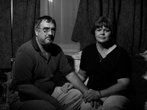 Mark and Sandra LeBlanc at home in New Orleans. They led a flotilla of boats to the hospital to save his mother, among others. (Paolo Pellegrin/Magnum Photos)