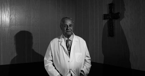 Orleans Parish Coroner Frank Minyard (Paolo Pellegrin/Magnum)