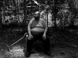 Rodney Scott in Pearl River, La. He was almost taken for dead and was the last patient to leave the hospital in the evacuation. (Paolo Pellegrin/Magnum Photos)