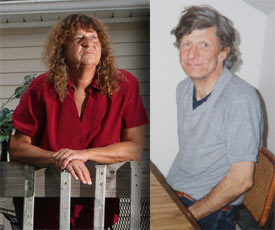 Alvin Essary, 50, died in 1999 from clozapine intoxication, according to his autopsy. Pictured left is his sister, Shirley Palmer (Antonio Perez/Chicago Tribune). Reinstein disputes the allegation that clozapine caused his death.