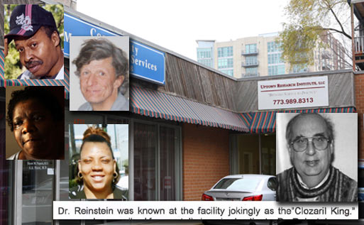 Dr. Michael Reinstein is one of the most prolific providers of psychiatric care in Chicago-area nursing homes and mental health facilities. But he is trailed by lawsuits and complaints while getting government reimbursement for seeing a large number of patients. Photo of his strip mall office by Alex Garcia/Chicago Tribune.